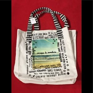 """❤️❤️""""Tote It Around""""with printed messages🧚♀️"""